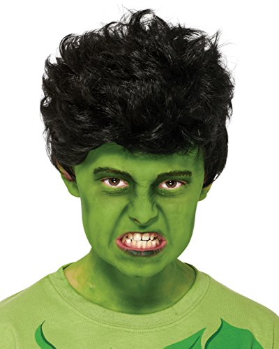 Rubies Marvel Universe Classic Collection Avengers Assemble Child Size Incredible Hulk Wig (Child Classic The Hulk Costume)