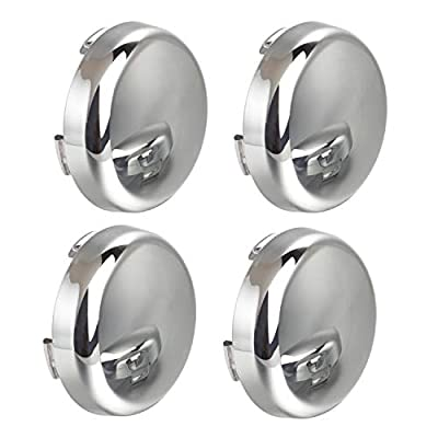 NTHREEAUTO Chrome Bullet LED Turn Signals Lens Cover Compatible with Harley Sportster Street Glide Road King Softail - Mirror Shell: Automotive