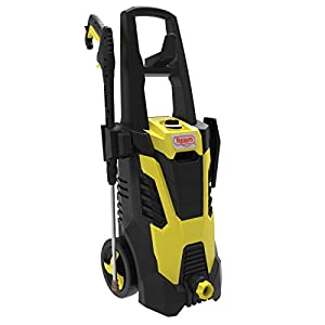 Realm BCM Electric Pressure Washer, 2300 PSI, 1.75GPM, 14.5 Amp with Spray Gun,5 Nozzles, Built in Detergent Bottle…