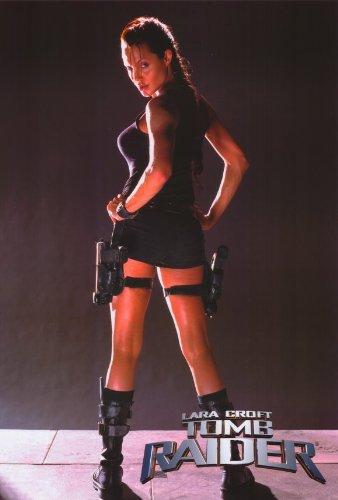 Amazon Com Lara Croft Tomb Raider Movie Poster 27 X 40