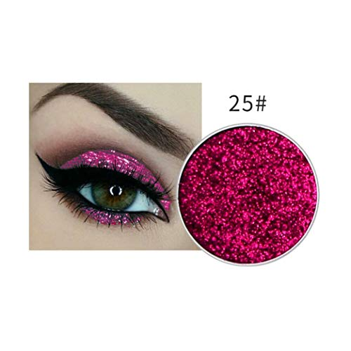 Dream_Mimi 24 Color Shimmer Glitter Shimmery Eye Shadow Powder Matt Eyeshadow Cosmetic Makeup Eyeshadow Palette (J, Multicolor) (Matt Foundation Touch Oil)