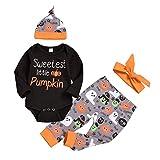 AmzBarley Baby Boys Girls Romper 3 PCS Bodysuit Infant Jumpsuit Outfit Set