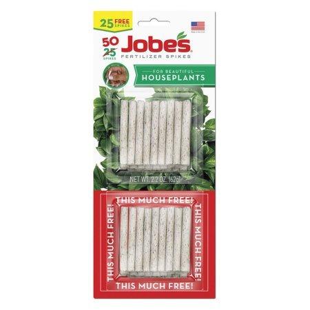 Jobe's 5001T Houseplant Indoor Fertilizer Food Spikes, 50 Pack(2) (Indoor House Plant Fertilizer)
