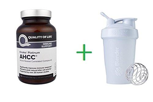 Quality of Life Labs, Kinoko Platinum AHCC, Immune Support, 750 mg