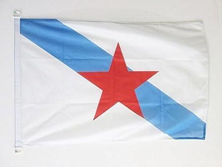 AZ FLAG Bandera de Galicia ESTRELEIRA 90x60cm Uso Exterior ...