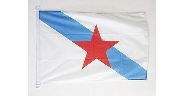 Amazon.com: AZ FLAG Galicia Independentista Bandera Náutica ...