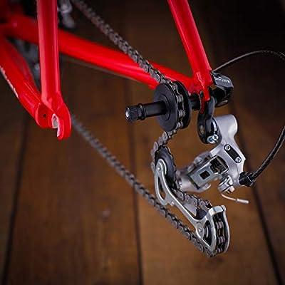 Chain Holder Freewheel Tool BIKEHAND DUMMY HUB BICYCLE   FRAME PROTECTOR  3369