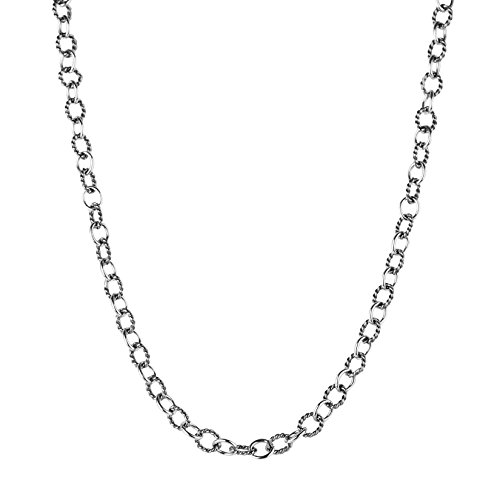 (Carolyn Pollack Sterling Silver Chain Necklace - 17)