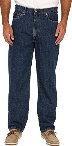 (Levi's Men's 550 Big & Tall Relaxed Fit Jean, Dark Stonewash, 52W x 29L)