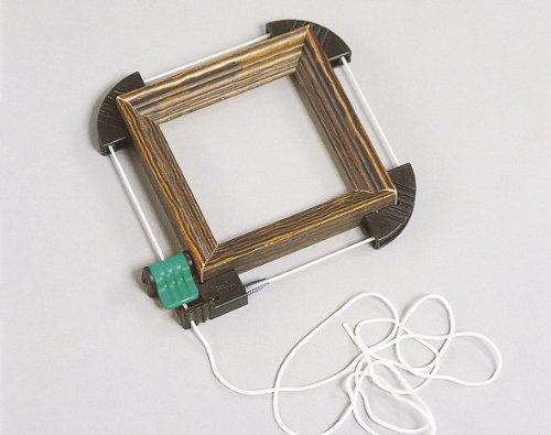 Wolfcraft 3417000 Mini-presse /à cadre /à corde en nylon solide longueur 2 m
