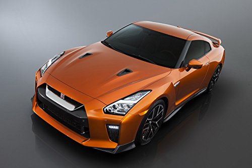 Nissan Gt-R 2017 New Gtr Car Poster