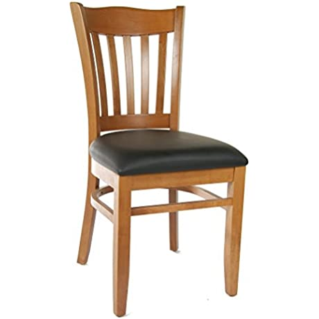 Beechwood Mountain BSD 28S C Solid Beech Wood Side Chairs In Cherry For Kitchen Dining Set Of 2 NA