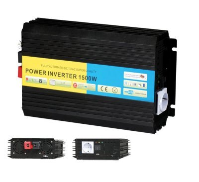 Gowe 1500 W 12 VDC bis 220 VAC Off Grid Solar Inverter Pure Sine Wave Power Inverter mit CE, ROHS zertifiziert (3000 W Peak Power)