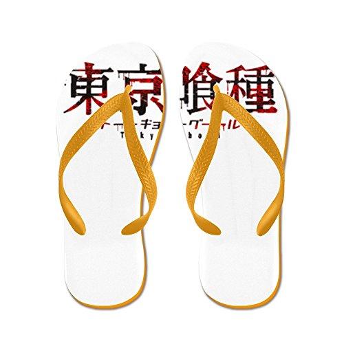 Cafepress Tokyo Ghoul Logo - Flip Flops, Grappige String Sandalen, Strand Sandalen Oranje