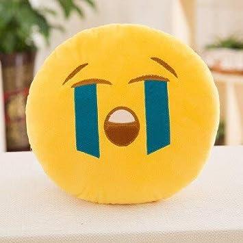 Amazon.com: ILUTOY 30Cm Soft Emoji Smiley Emoticon Round ...