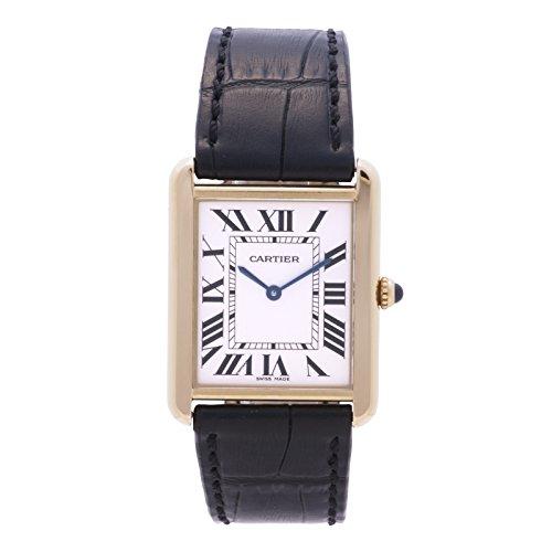 Cartier Tank quartz mens Watch W5200004 (Certified Pre-owned)