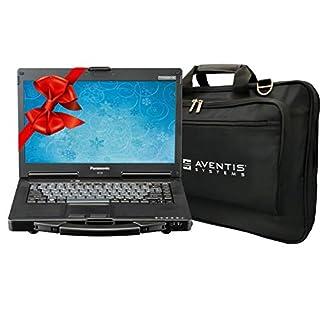 Panasonic Toughbook CF-53 Laptop PC Bundle with Laptop Bag, i5-2520M, 16GB, 1TB SSD, Win 10, Touchscreen (Renewed)