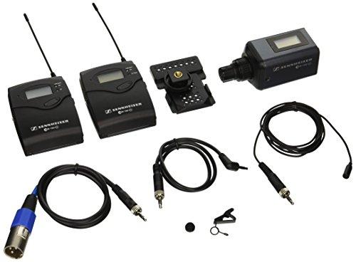 Sennheiser EW 100 ENG G3-B omni-directional clip-on microphone kit system (Sennheiser Omnidirectional Mic)