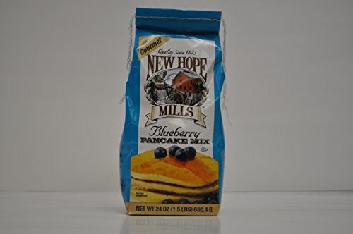 New Hope Mills New Hope Mills Mix, Blueberry Pancake Mix, 24 oz Bag, 1.5 lb