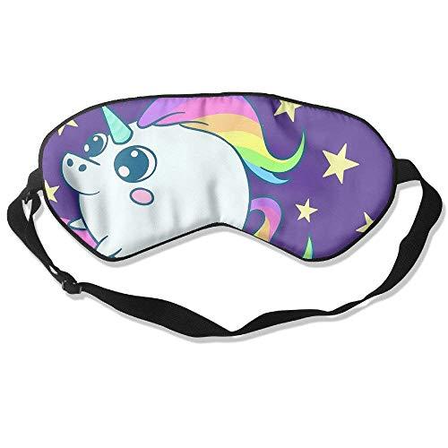 AFJ234F666 Cute Unicorn Pattern Sleeping Mask for Travelling, Night Noon Nap Comfortable Sleep Eyes Masks