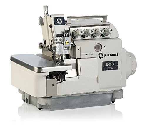 Reliable 5600SO 3/5 Thread Serger with Direct Drive Motor and Fully-Submerged Table