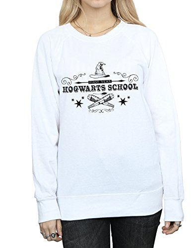 Sudadera Primer Mujer Potter o A Hogwarts Harry Blanco rwBpq7r