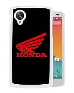 Individual Design Phone Case logo honda motor White Popular Sale Google Nexus 5 Phone Case