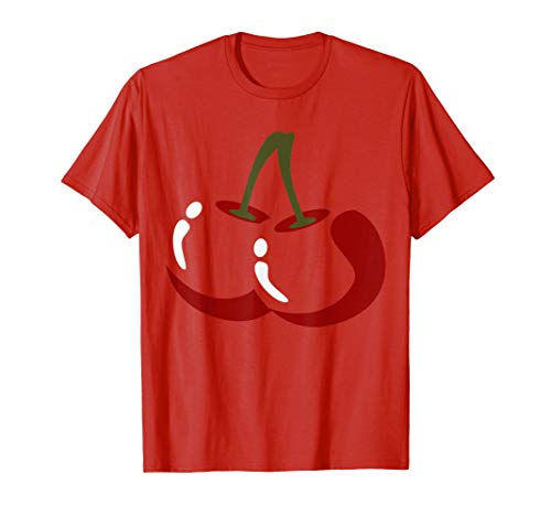 Easy Halloween Costumes For College Kids (Big Cherry Costume Cute Easy Vegetable Halloween Gift)