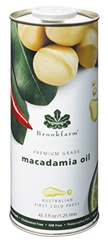(Brookfarm Premium-Grade Natural Macadamia Oil, 42.3 fl oz (1.25l))