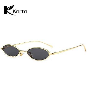 SKCLBOOS Gafas de Sol 90s Gafas de Sol ovaladas Zonnebril ...