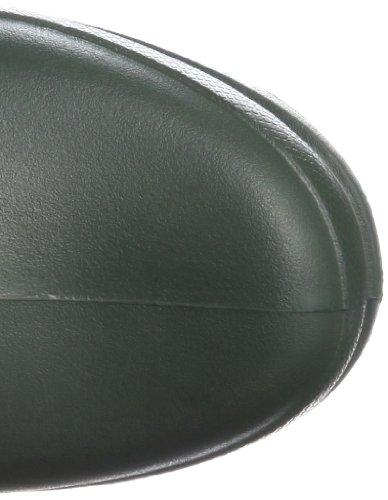 Crocs Wellie Rain Boot W - Botas de agua, color: Negro Verde Oscuro