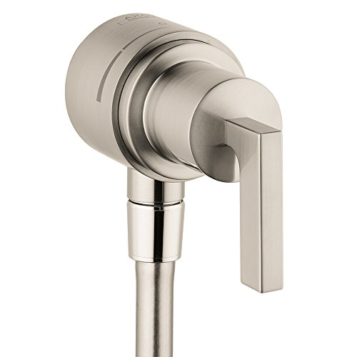 Axor 39882821 Citterio Wall outlet, Brushed Nickel