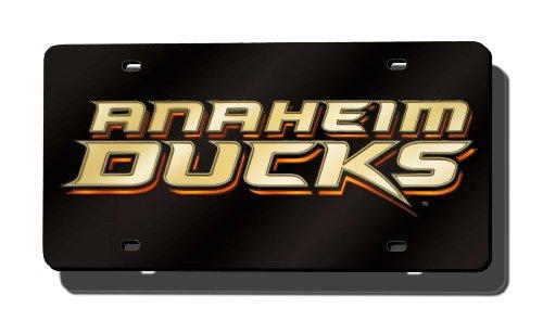 Rico Industries NHL Anaheim Ducks Laser Inlaid Metal License Plate Tag ()