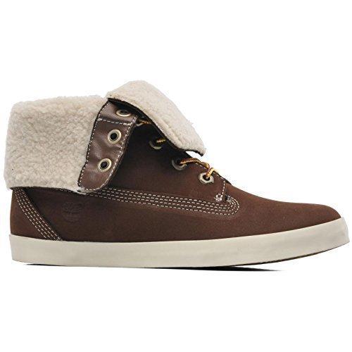 Timberland Glastenbury Brown Fleece Women's Boots (6.5 B(M) US) -