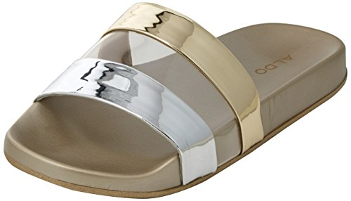 Chaussons Mules Charenna bright Gold Aldo Femme Or 5wTzUxp