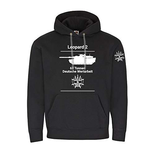 WDD Hoodie Leopard 2 Main Battle Tank Fellowship BW Army 2A7 PzBtl ()