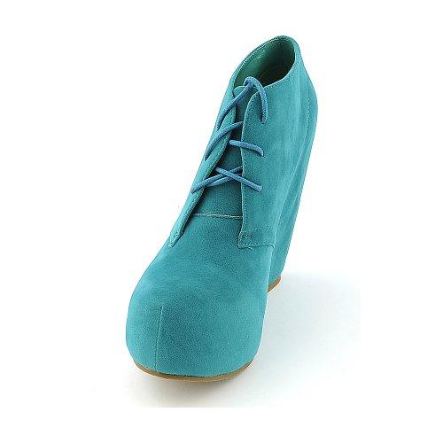 Glasur Womens Camilla-en Boot - Blågrønn Størrelse 6