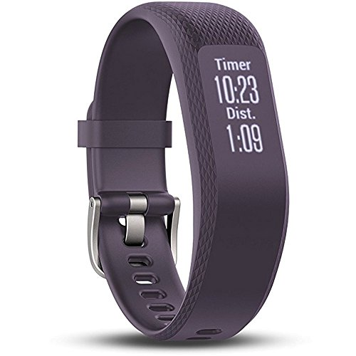 Garmin (010 01755 11) vivosmart 3 Small/Medium, Purple With 1 Year Extended Warranty