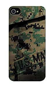 Case For Iphone 5/5s PC Phone Case Cover(uniform Camouflage Marines Military ) For Thanksgiving Day's Gift