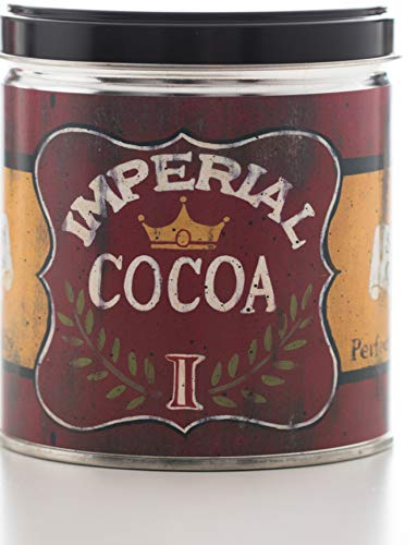 (Our Own Candle Company Hot Chocolate Scented Candle in 13 Ounce Tin with a Vintage Imperial Cocoa Label by Linda Spivey)