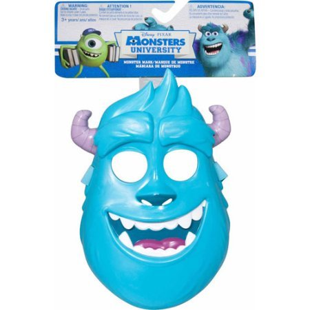 Monsters University Kids Deluxe Sulley Costumes (Monsters University Sulley Monster Mask that Control the facial movements)