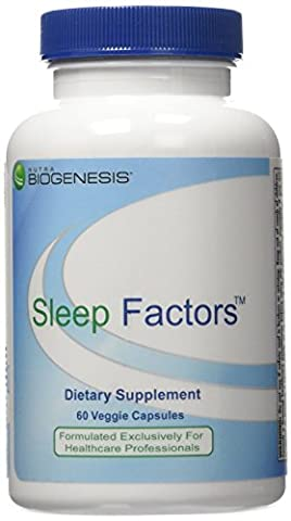 BioGenesis - Sleep Factors 60 veggie caps [Health and Beauty] - Health And Beauty
