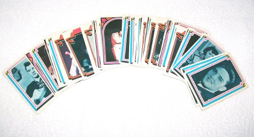 Elvis Presley Trading Cards - Complete Set of 66 By Boxcar Enterprises - Dated 1978