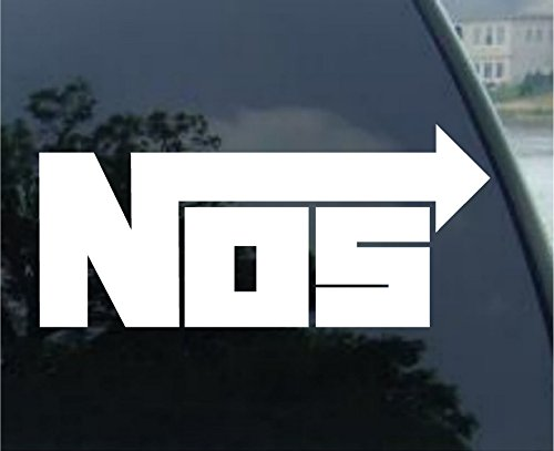 NOS Nitrous Oxide Systems Car Window Vinyl Decal Sticker 4
