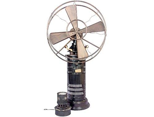 - Global Art World Antique Collectible Retro 1920's Jot's Patent Radio Kerosene Stand Fan HB 01