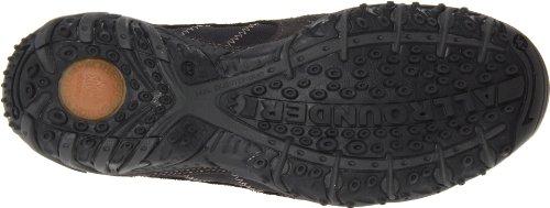 Allrounder Van Mephisto Dames Odessa Rubber Oxford Graphite Suede / Black Mesh