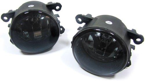 Carparts-Online 15846/_8 Klarglas Nebelscheinwerfer schwarz smoke