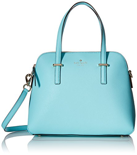 kate spade new york Cedar Street Maise Satchel Bag, Atoll Blue, One Size