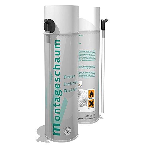 (7,76Euro/Liter) PU - 1K MONTAGESCHAUM B2 500ml