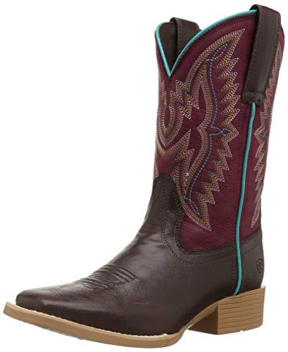 Ariat Baby BRISTO Western Boot, Mild Maroon, 8.5 M US Toddler